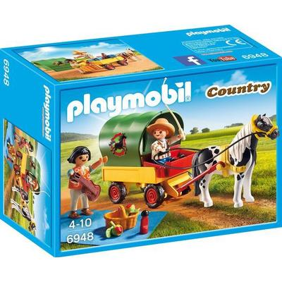 Playmobil Picnic With Pony Wagon 6948