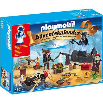 Playmobil Advent Calendar Secret Pirates Treasure Island 6625