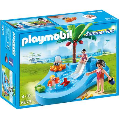 Playmobil Baby Pool with Slide 6673