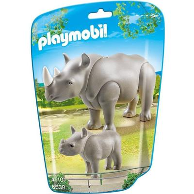 Playmobil Rhino with Baby 6638