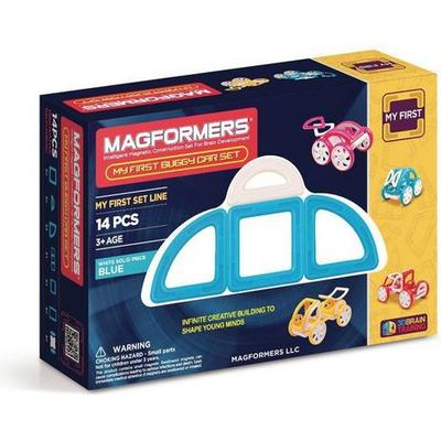 Magformers My First Buggy Car Blue 14pc Set