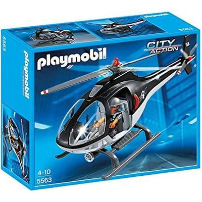 Playmobil Swat Helicopter 5563