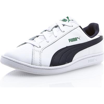 Puma Smash FUN L PS - Vit/Blå - unisex - Skor - Sneakers - Låga Sneakers UK12 / EU31