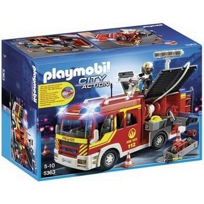 Playmobil City Action Fire Engine with Lights and Sound 5363