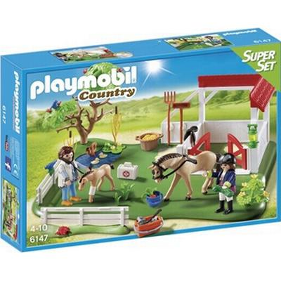 Playmobil Horse Paddock SuperSet 6147