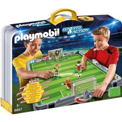 Playmobil Take Along Soccer Field 6857