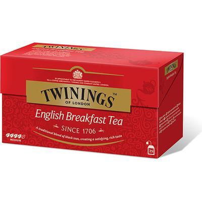 Twinings English Breakfast 25 Tepåsar