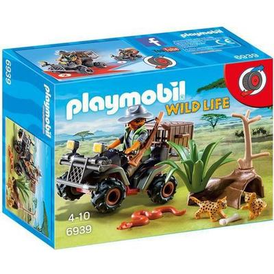 Playmobil Evil Explorer With Quad 6939