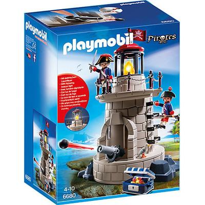 Playmobil Soldiers' Lookout With Beacon 6680