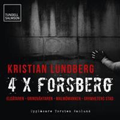 Fyra x Forsberg (Ljudbok MP3 CD, 2014)