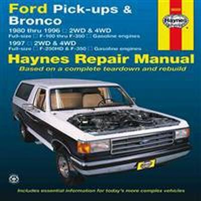 Haynes Ford Pick-ups & Bronco (Pocket, 2012)