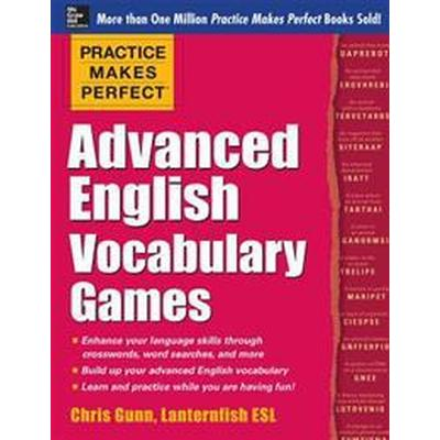 Practice Makes Perfect Advanced English Vocabulary Games (Pocket, 2014)