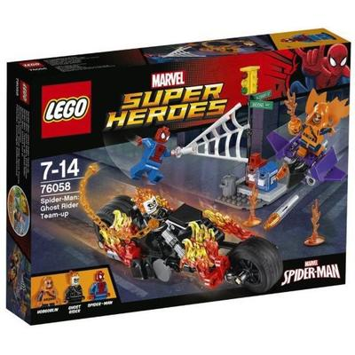 Lego Super Heroes Marvels Super Heroes Spider-Man: Ghost Rider Team-Up 76058