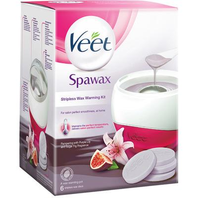 Veet Spawax Stripeless Wax Warming Kit