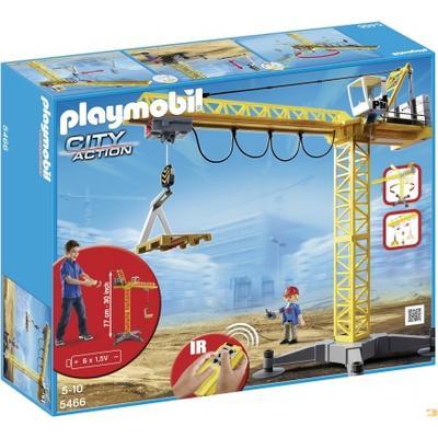 Playmobil Large Crane with IR Remote Control 5466