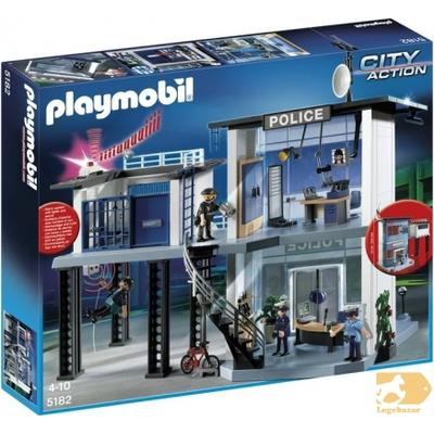 Playmobil Police Station with Alarm System 5182