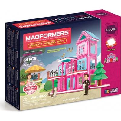 Magformers Sweet House Set 64pc
