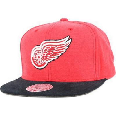 Mitchell & Ness Detroit Red Wings Sandy Off White Snapback
