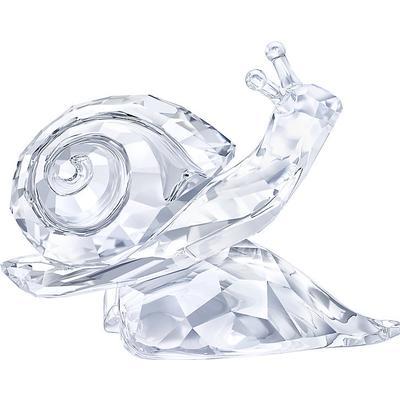 Swarovski Snail on Leaf 3.6cm Prydnadsfigur