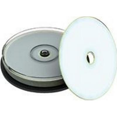 MediaRange CD-R 700MB 52x Spindle 10-Pack Wide inkjet