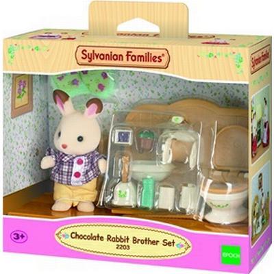 Sylvanian Families Chocolate Rabbit Brother Set
