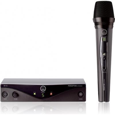 AKG WMS45 Vocal Set Upptagningsförmåga Cardioid Tillbehör Adapter
