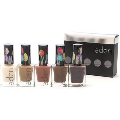 Aden Nail Polish Set Paris 11ml