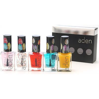 Aden Nail Polish Set Nail Care 2 11ml