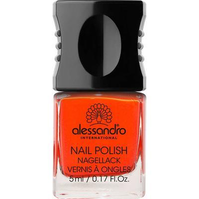 Alessandro Mini Nail Polish Orange Red 5ml