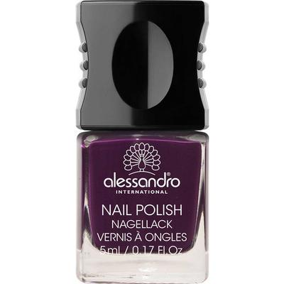 Alessandro Mini Nail Polish Dark Violet 5ml