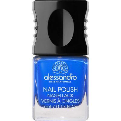 Alessandro Mini Nail Polish Deep Ocean Blue 5ml