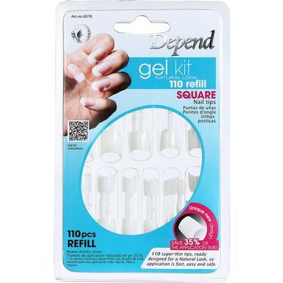 Depend Natural Look Gelekit 110 Refill Square 6076