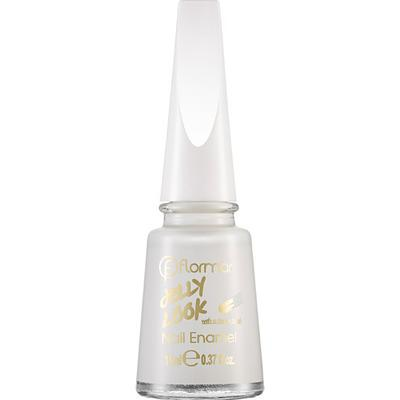 Flormar Jelly Look Nail Enamel Pure Milk 11ml