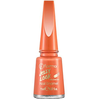 Flormar Jelly Look Nail Enamel Coral Red 11ml