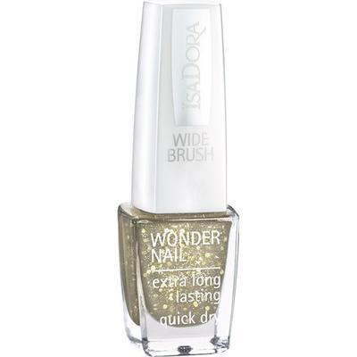 Isadora Wonder Nail 521 Gold Flakes 6ml