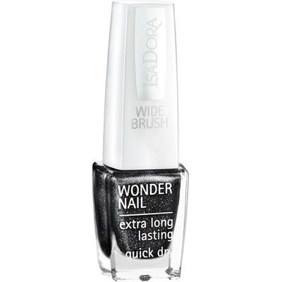 Isadora Wonder Nail 728 Black Galaxy 6ml