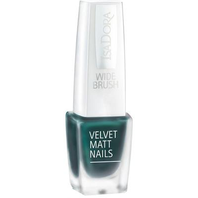 Isadora Velvet Matt Nails Green Planet 6ml