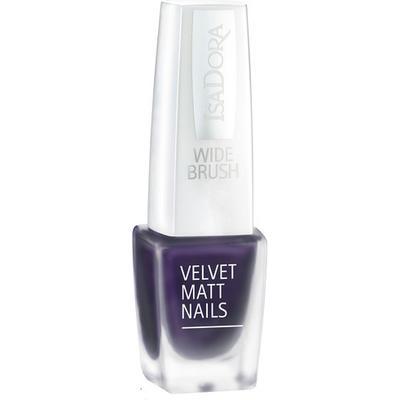 Isadora Velvet Matt Nails Grape Royal 6ml