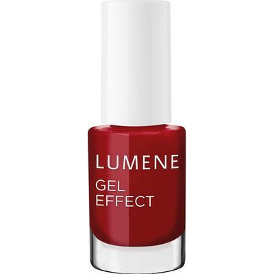 Lumene Gel Effect Nail Polish #19 Fall Red 5ml