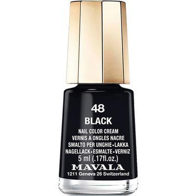 Mavala Nail Colour Cream #48 Black 5ml