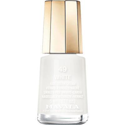 Mavala Nail Colour Cream #49 White 5ml