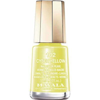 Mavala Nail Colour Cream #102 Cyber Yellow 5ml