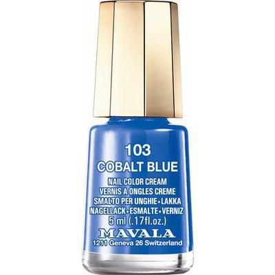 Mavala Nail Colour Cream #103 Cobalt Blue 5ml