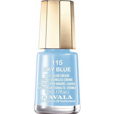 Mavala Nail Colour Cream #115 Sky Blue 5ml