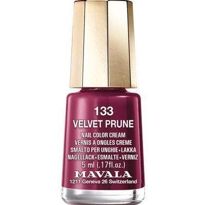 Mavala Nail Colour Cream #133 Velvet Prune 5ml