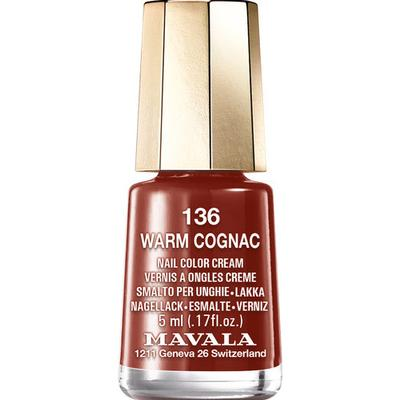 Mavala Nail Colour Cream #136 Warm Cognac 5ml