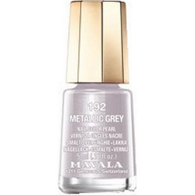 Mavala Nail Colour Cream #192 Metallic Grey 5ml