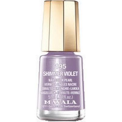 Mavala Nail Colour Cream #195 Shimmer Violet 5ml