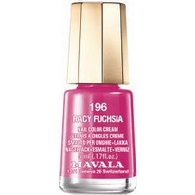 Mavala Nail Colour Cream #196 Racy Fuchsia 5ml