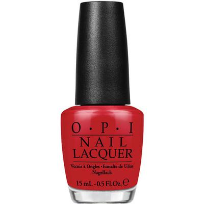 OPI Nail Lacquer Red Hot Rio 15ml